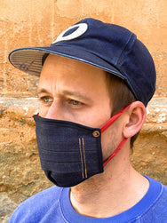 Runabout Denim Head Protective Mask