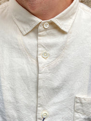 Japan Blue J350323 Buono Shirt Off White Chambray
