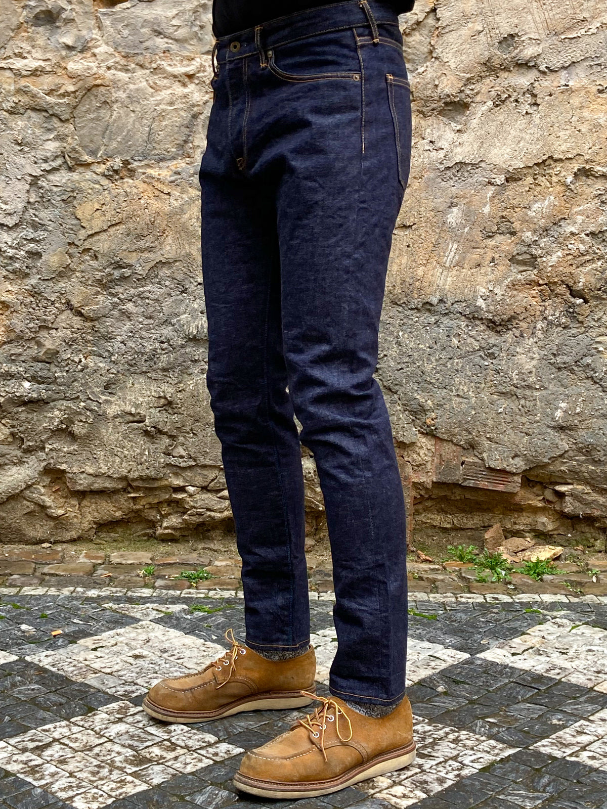Japan Blue J201 Circle Tapered 14.8oz American Cotton Vintage Selvedge Jeans