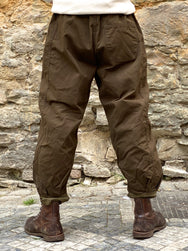 Black Sign Air Brigade Parachute Pants Hide Green