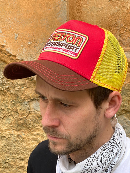 Stetson Trucker Cap Motorsport Yellow