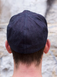 Real McCoy's MA16001 A-3 Cap Denim