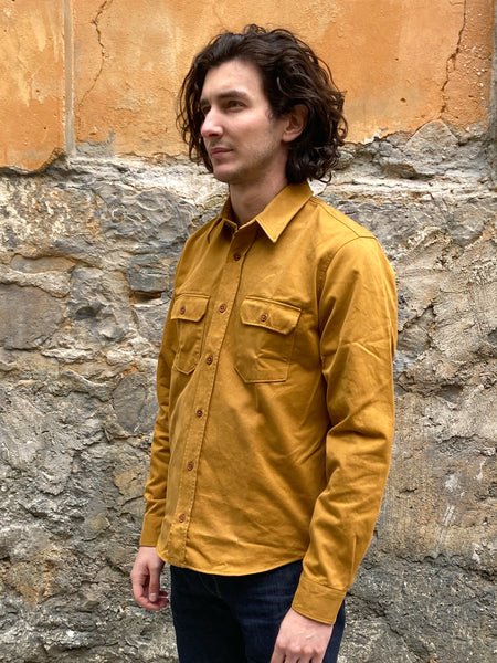 Indigofera Alamo Shirt Golden Oak