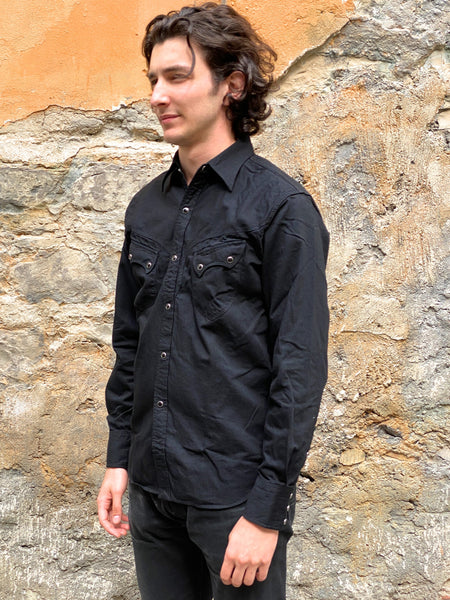 Stevenson Overall Co. CD-2BK Cody Shirt Black