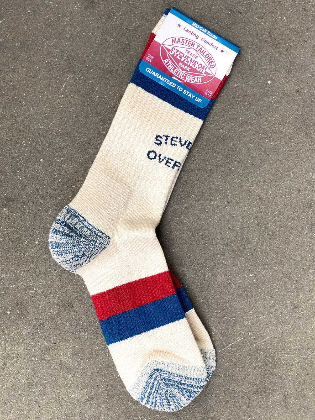 Stevenson Overall AS2-WH Athletic Socks White