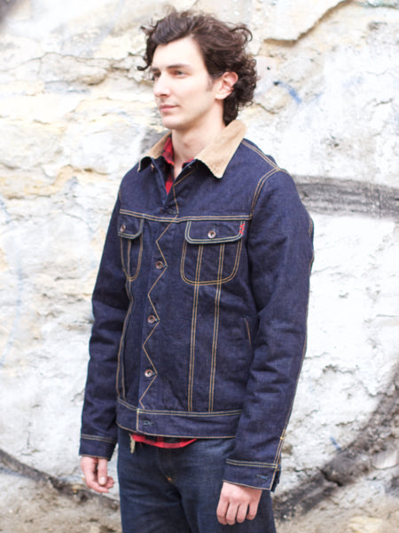 IH-101J-SR 18oz Selvedge Denim Storm Rider Jacket