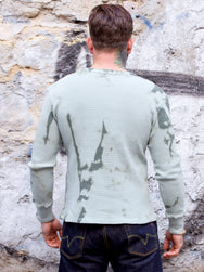 Eat Dust T-Thermal Waffle Jersey Army Green
