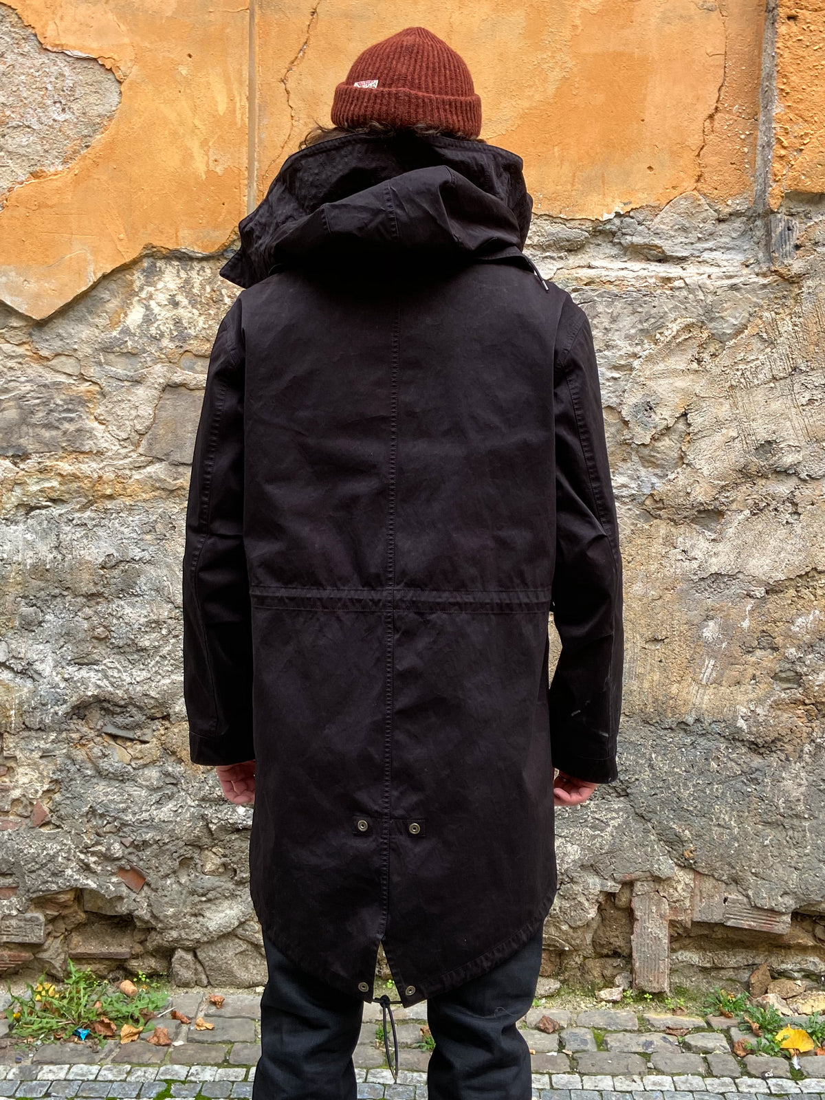 Ten C Parka Black