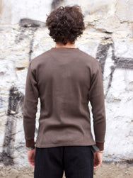 Black Sign Amish Underwear Long Sleeve Olive