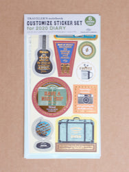 Traveler's Company 2020 Customize Sticket Set