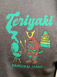 "Samurai SJST20-107 Loopwheel Tee ""Teriyaki"" Light Black"