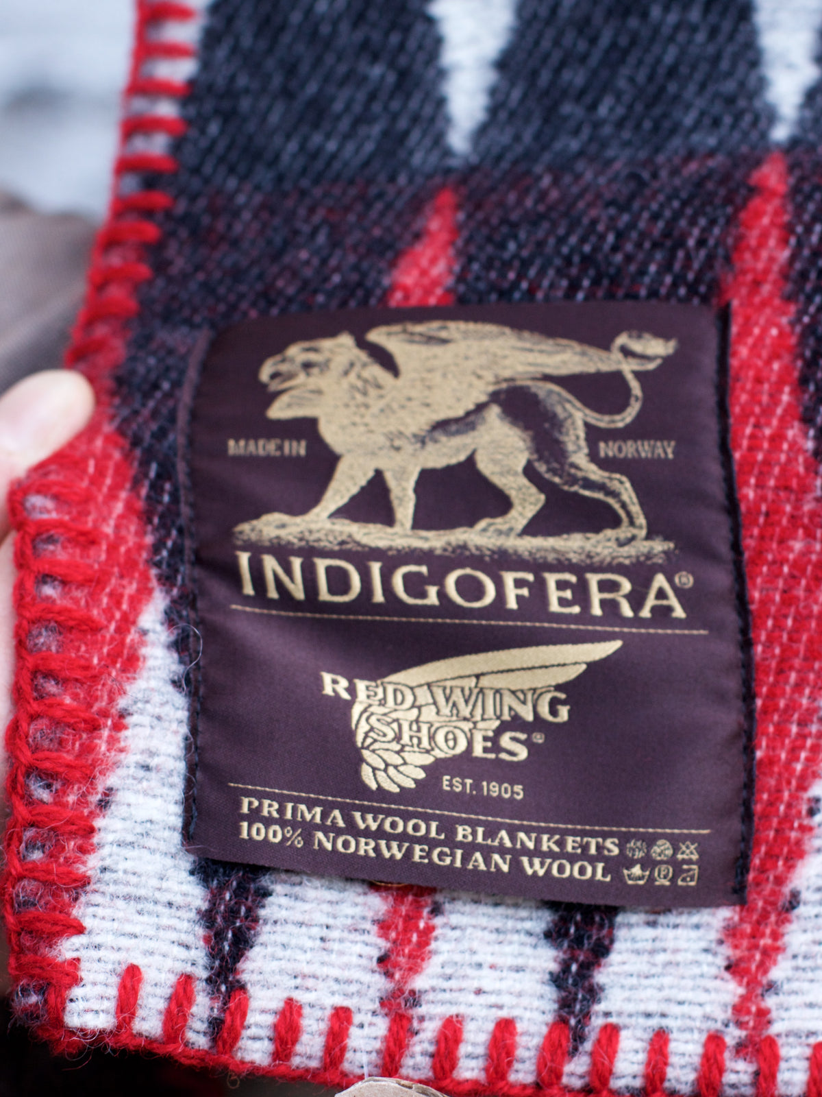 Indigofera x Red Wing Blanket