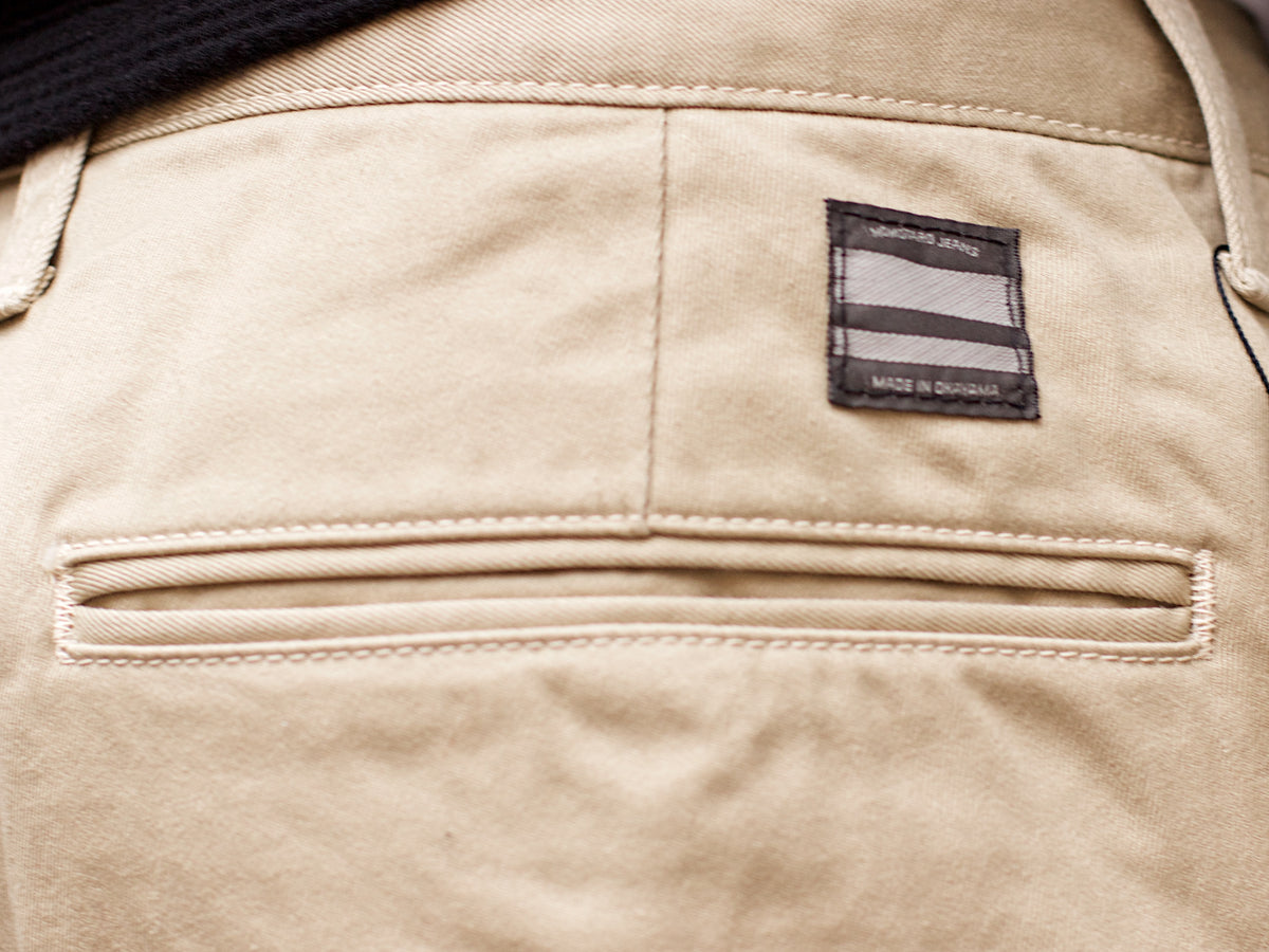 Momotaro 4160SP West Point Work Pants Khaki