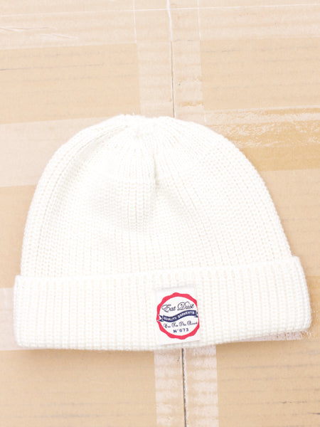 Eat Dust X Sailor beanie wool  off-white