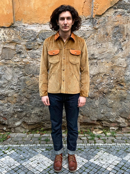 Indigofera Eagle Rising Corduroy/Leather