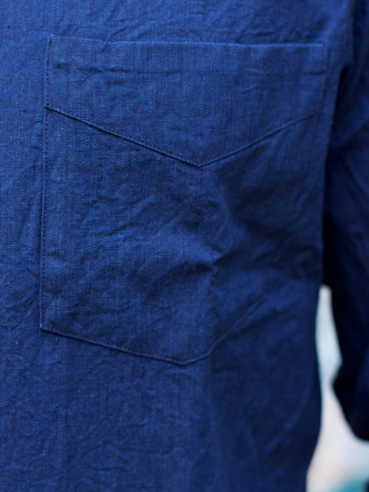 Japan Blue J350323 Buono Shirt Indigo Chambray