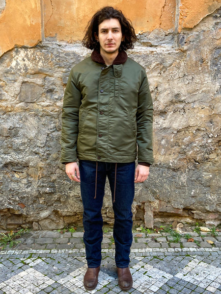 Eat dust Deck Jacket Military Nylon Khaki