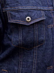 Japan Blue J38630J01 Denim Jacket Côte d'lvoire Selvage