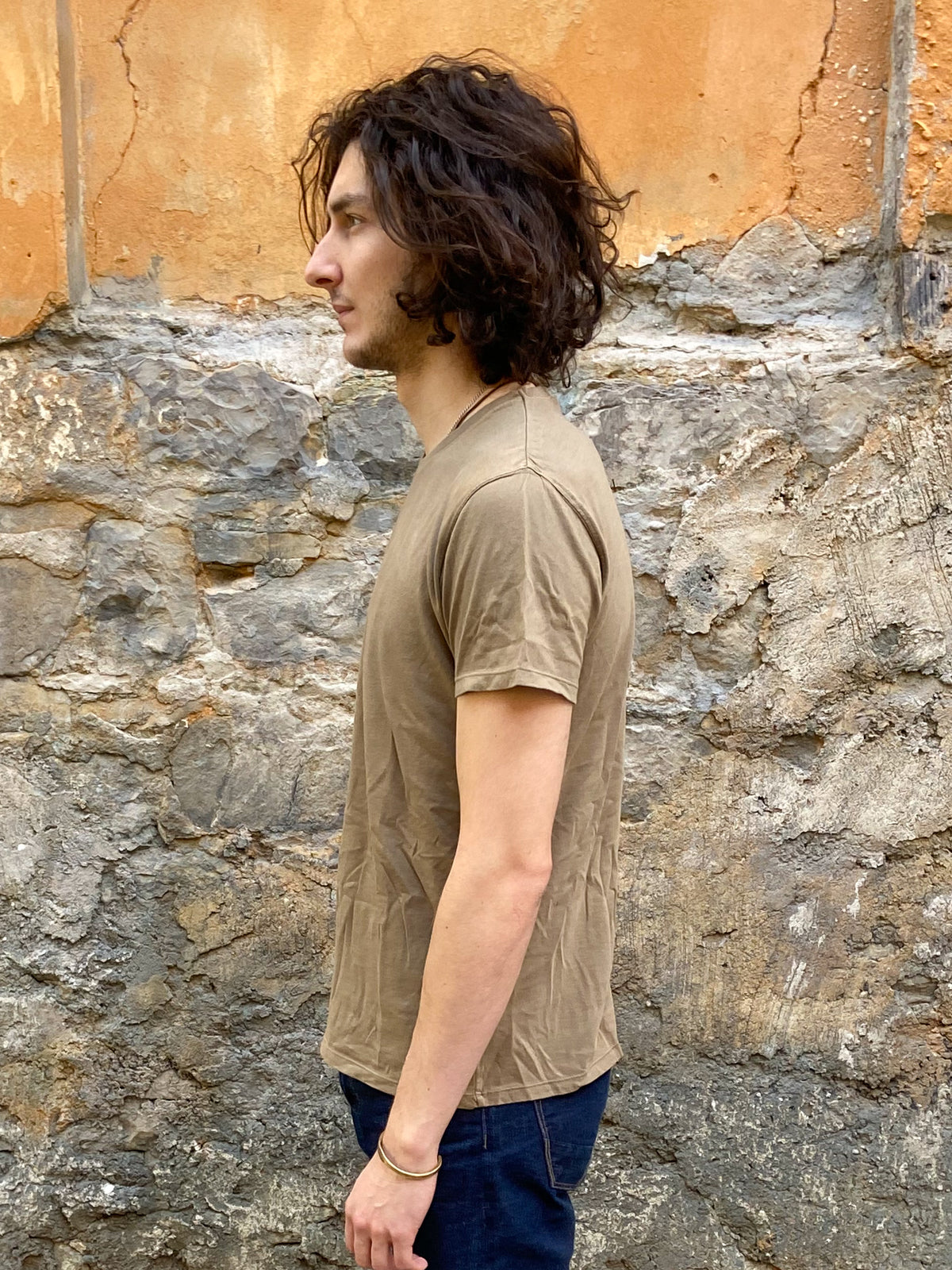 Nudie Jeans Anders Tee Desert Green