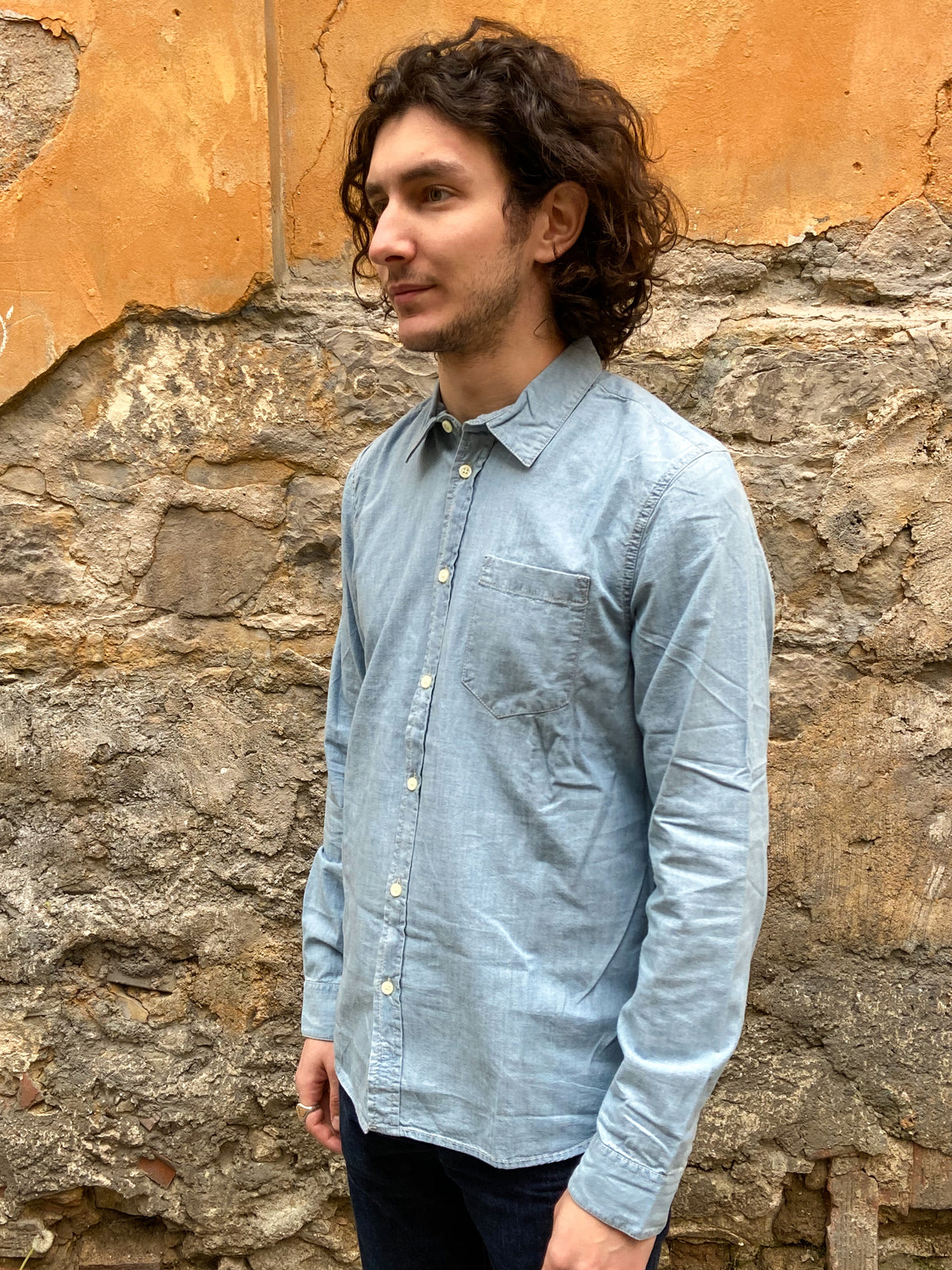 Nudie Jeans Henry Chambray Shirt