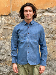 Studio d'Artisan 5639 OLD WEST chambray shirt