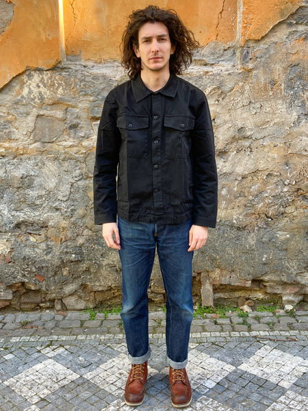 Nudie Jeans Colin Utility Overshirt Black