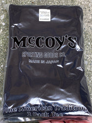 Joe McCoy MC20000 McCoy's 2Pcs Pack Tee Black