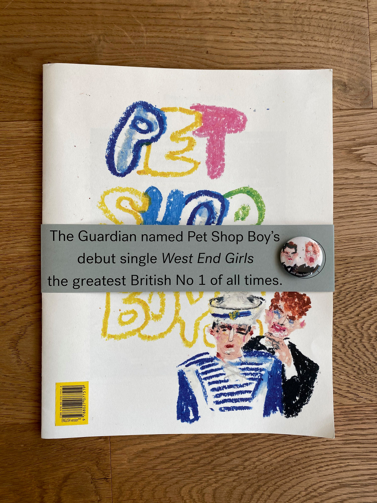 "Zine ""Pet Shop Boys"""