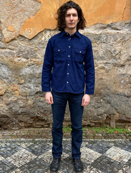 Samurai SSS20-01 10oz Sword Ear Denim Work Shirt