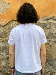 Eat Dust T-Dropping Pants Organic Cotton White