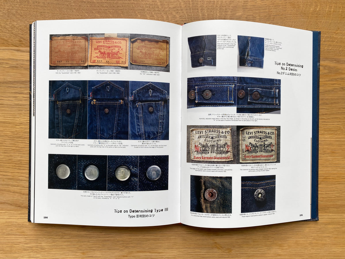Levi's Vintage Denim Jackets Book