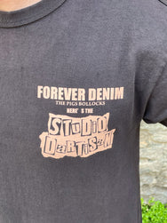 Studio d'Artisan 8032A FOREVER DENIM Short Sleeve T-Shirt