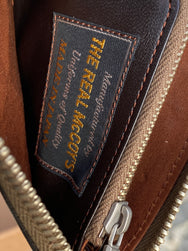 The Real McCoy's MW17100 Horsehide Wallet Brown