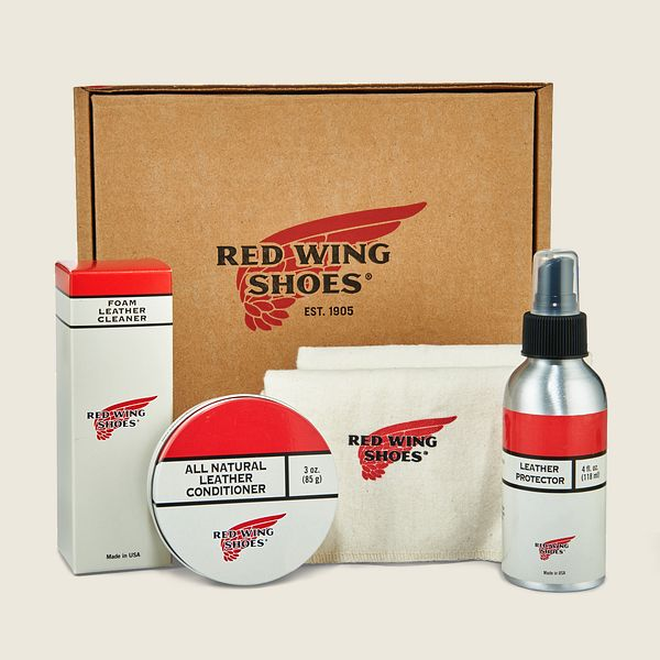 Red Wing Oil-Tanned Leather Care Product Kit