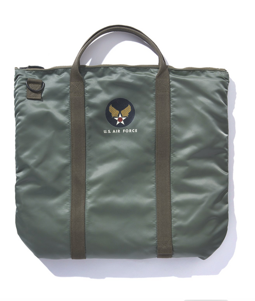 The Real McCoy's MA20001 Bag, protective, Helmet Olive
