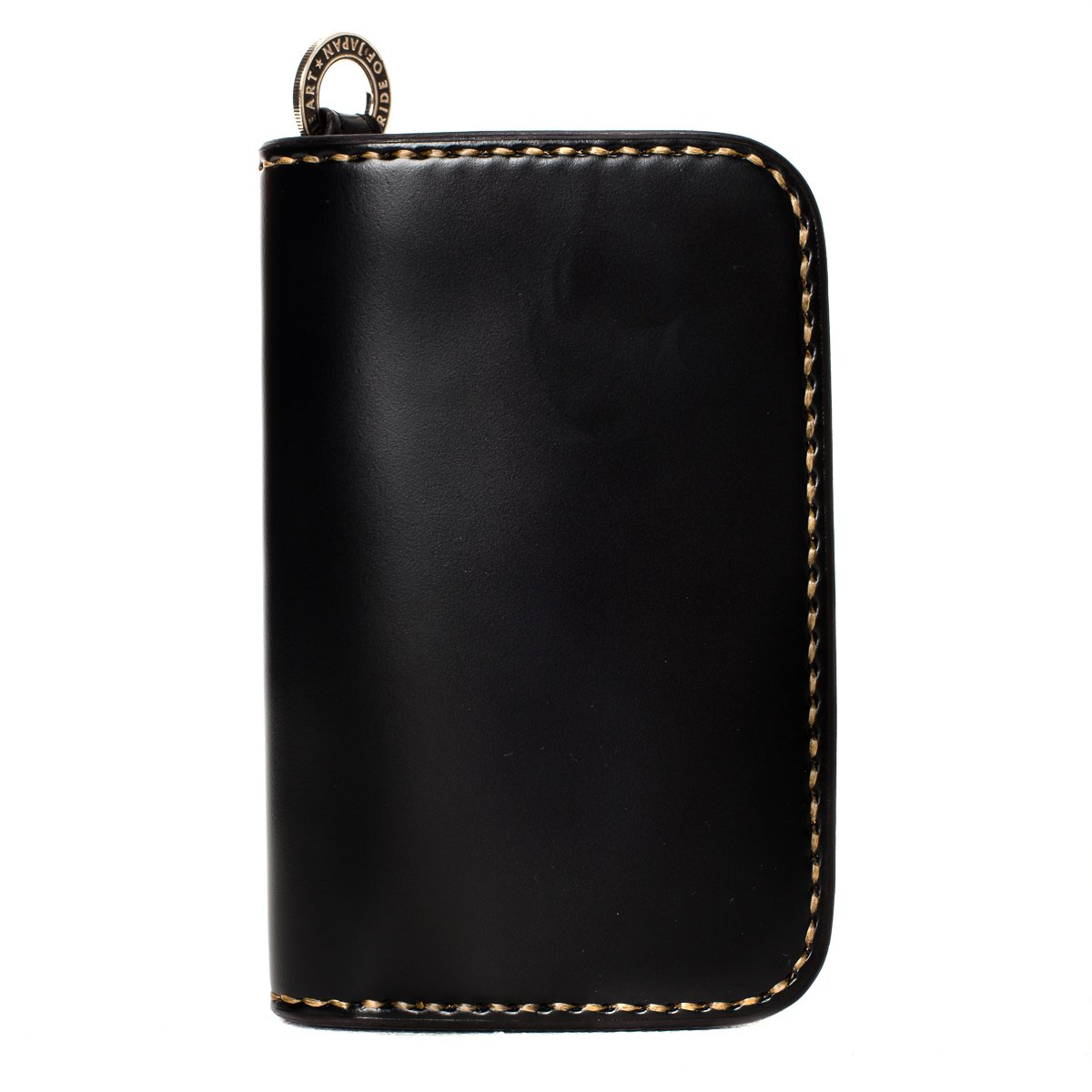 Iron Heart IHG-02 Medium Shell Cordovan Wallet Black