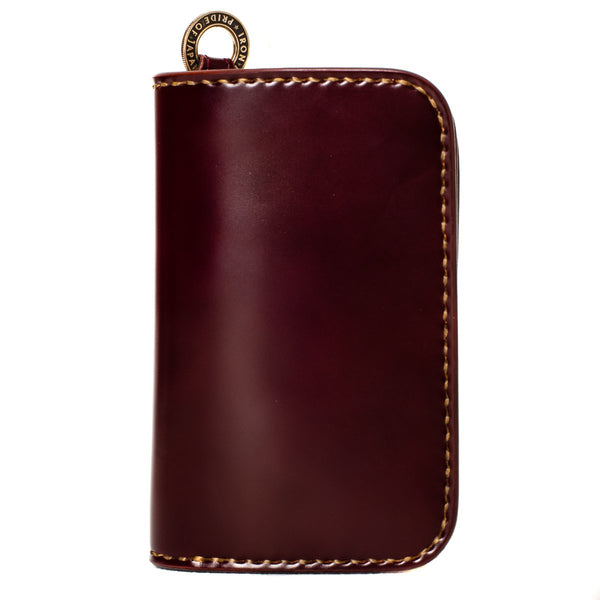 Iron Heart IHG-02 Medium Shell Cordovan Wallet Oxblood