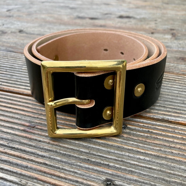 Krysl Goods Belt RIveted AG/Black