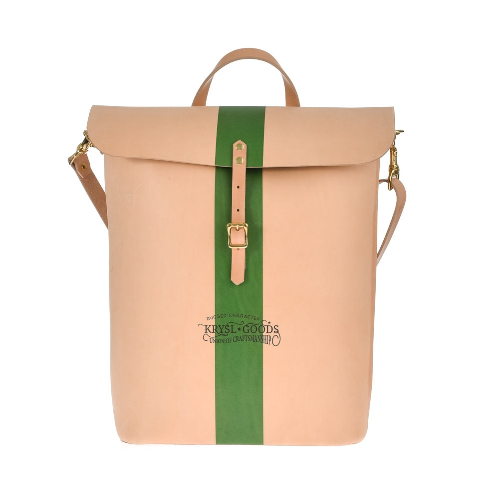 Krysl Goods Leather Shoulder Bag Vegetable Tan