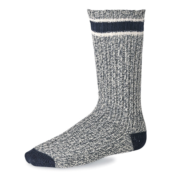 Red Wing Wool Ragg Crew Boot Socks Slate/Navy