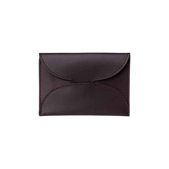 Evita Burgundy | Wallets UK | La Portegna UK | Handmade Leather Goods | Vegetable Tanned Leather