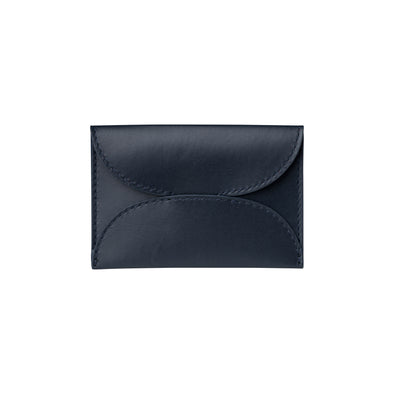 Evita Navy | Wallets UK | La Portegna UK | Handmade Leather Goods | Vegetable Tanned Leather