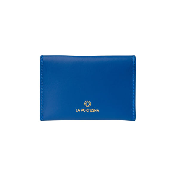 Evita Blue | Wallets UK | La Portegna UK | Handmade Leather Goods | Vegetable Tanned Leather