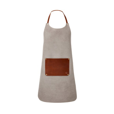 Apron Cement | La Portegna UK | Handmade Leather Goods | Vegetable Tanned Leather