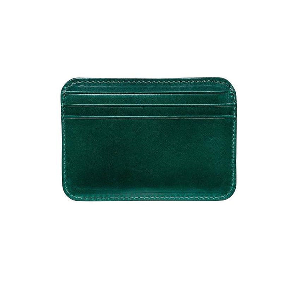 Humphrey Green Wallets | La Portegna UK | Handmade Leather Goods | Vegetable Tanned Leather