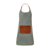Apron Olive | UK | La Portegna UK | Handmade Leather Goods | Vegetable Tanned Leather