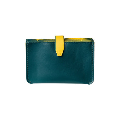 Eleonora Petrol | UK | La Portegna UK | Handmade Leather Goods | Vegetable Tanned Leather