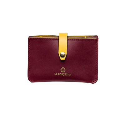 Eleonora Cherry | La Portegna UK | Handmade Leather Goods | Vegetable Tanned Leather