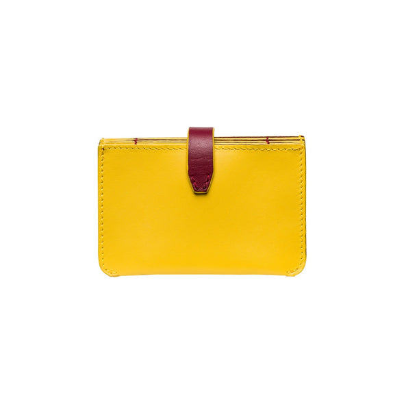Eleonora Mustard | La Portegna UK | Handmade Leather Goods | Vegetable Tanned Leather