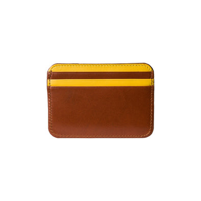 Humphrey Bicolor Sol | Wallets UK | La Portegna UK | Handmade Leather Goods | Vegetable Tanned Leather